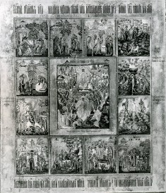 The Resurrection of Christ and Twelve Church Feasts