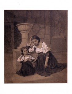Mother and Child in Prayer