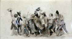 Departure of the Volunteers