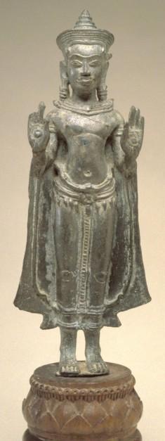 Standing Crowned Buddha