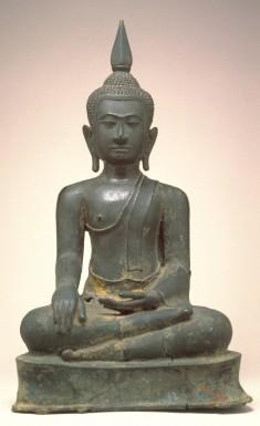 """Seated Buddha in""""Maravijaya"""""""