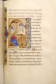 Leaf from Psalter