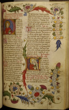 Leaf from Breviary