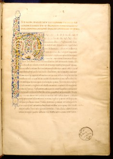 Leaf from Legenda San Catherinae de Senis