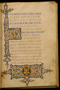 Leaf from Life of Alphonso VI, King of Aragon and Naples (1416-1458)