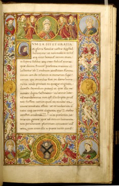 Leaf from Vita Zenobii Juliani da Girolamis