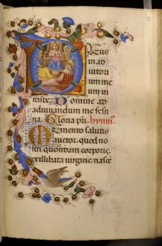 Leaf from Adimari Book of Hours