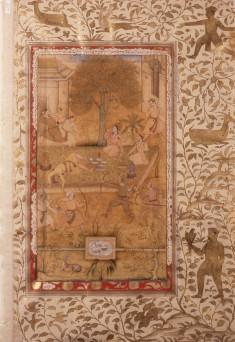 Single Leaf from Akbarnama by Abu'l Fazl