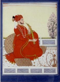 Portrait of Kirat Prakash of Sirmur