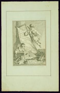 "Frontispiece, from Madame de Pompadour's ""Suite of Prints"""