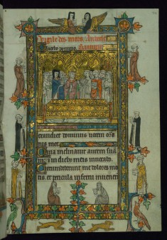 Leaf from a Book of Hours: a Funeral Service