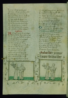 Memory Carrying Armor, Following Pilgrim, Who Turns Back and Points at Her and Memory Carrying Armor, Following Pilgrim