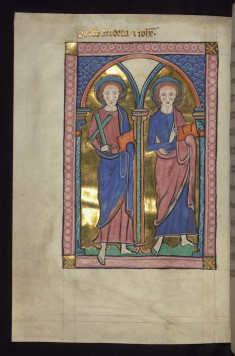 SS. Andrew and John (the Evangelist?)