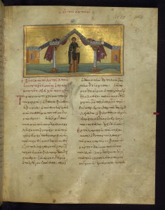 "Leaf from ""Imperial"" Menologion: Life and Conduct of Our Holy Father John, Who Lived in Poverty for Christ's Sake"