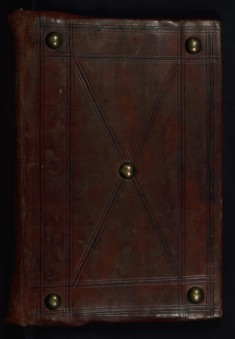 Binding from Gospel Book
