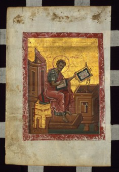 Evangelist Luke Seated