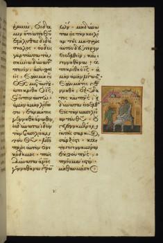 Christ addressing Nicodemus