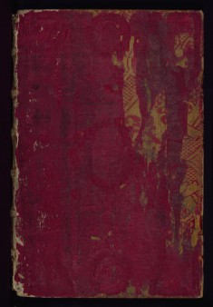Binding for Gospel Lectionary