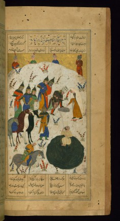 Rustam Rescues Bizhan from the Pit