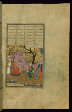 Rustam and Isfandiyar Parley