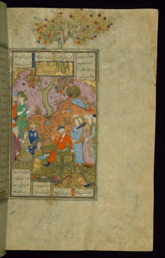 Bahram Bahramiyan Enthroned