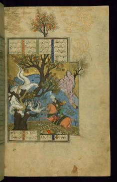 Rustam Kills a Dragon (the Third Feat)