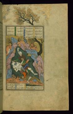 Rustam Kills the White Div (the Seventh Feat)