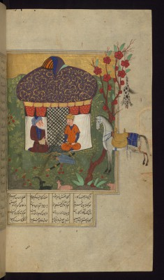 Bahram Gur Questions a Shepherd who Hung his Dog on a Tree