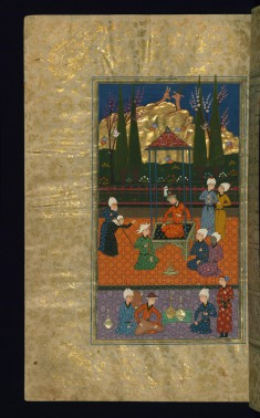 An Old Woman Implores Sultan Sanjar for Help