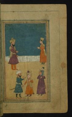 Zulaykha Shows Her Husband the Torn Piece of Joseph's Collar as Proof of His Guilt
