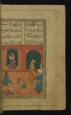 Zulaykha Visits Joseph in Prison