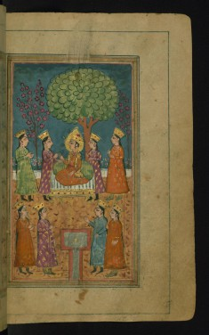 Zulaykha's Maids Approach Joseph for Him to Choose One as a Concubine