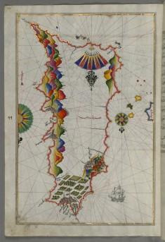 Map of Rhodes Island