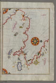 Map of  Argolikos Bay