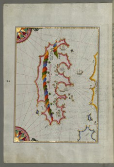 Map of the Island of Mljet Off Dubrovnik
