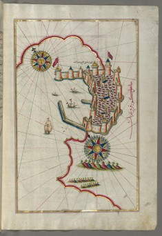 Map of the Fortress of Trieste
