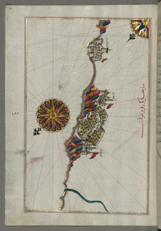 Map of the Italian Coastline South of Ancona Including Tronto (?)