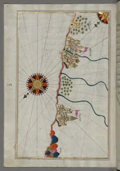 Map of the Italian Coast South of Ancona as Far as the Town of Pescara
