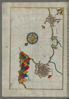 Map of the Coastline from Mafredonia as Far as Barletta on the Italian Coast