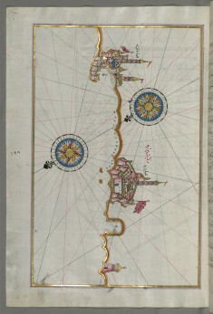 Map of the Italian Coast From Trani as Far as Molfetta