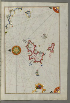 Map of Two Islands Off Majorca: Ibiza and Formentera