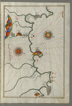 Map of the Moroccan and Algerian Coast From Melilla and Northwest of Tlemcen