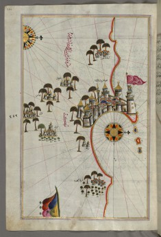 Map of the Fortress of Tripoli and the Surrounding Area