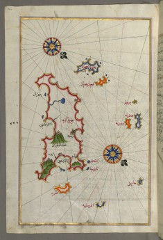 Map of the Islands of Karpathos and Kasos