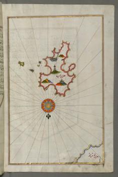 Map of Kythnos Island