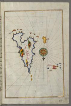 Map of Skyros Island