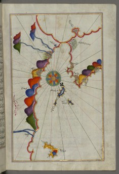 Leaf from Book on Navigation