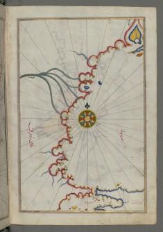 Map of the Sea of Marmara, Bosporus Strait and the Black Sea