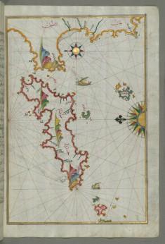 Map of the Island of Samos
