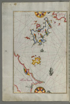 Map of the Island of Kalimnos